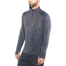 Bergans Roni Sweat-shirt en polaire avec demi-zip Homme, navy/night blue